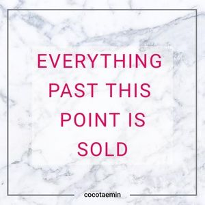 Other - past this point is SOLD➡️